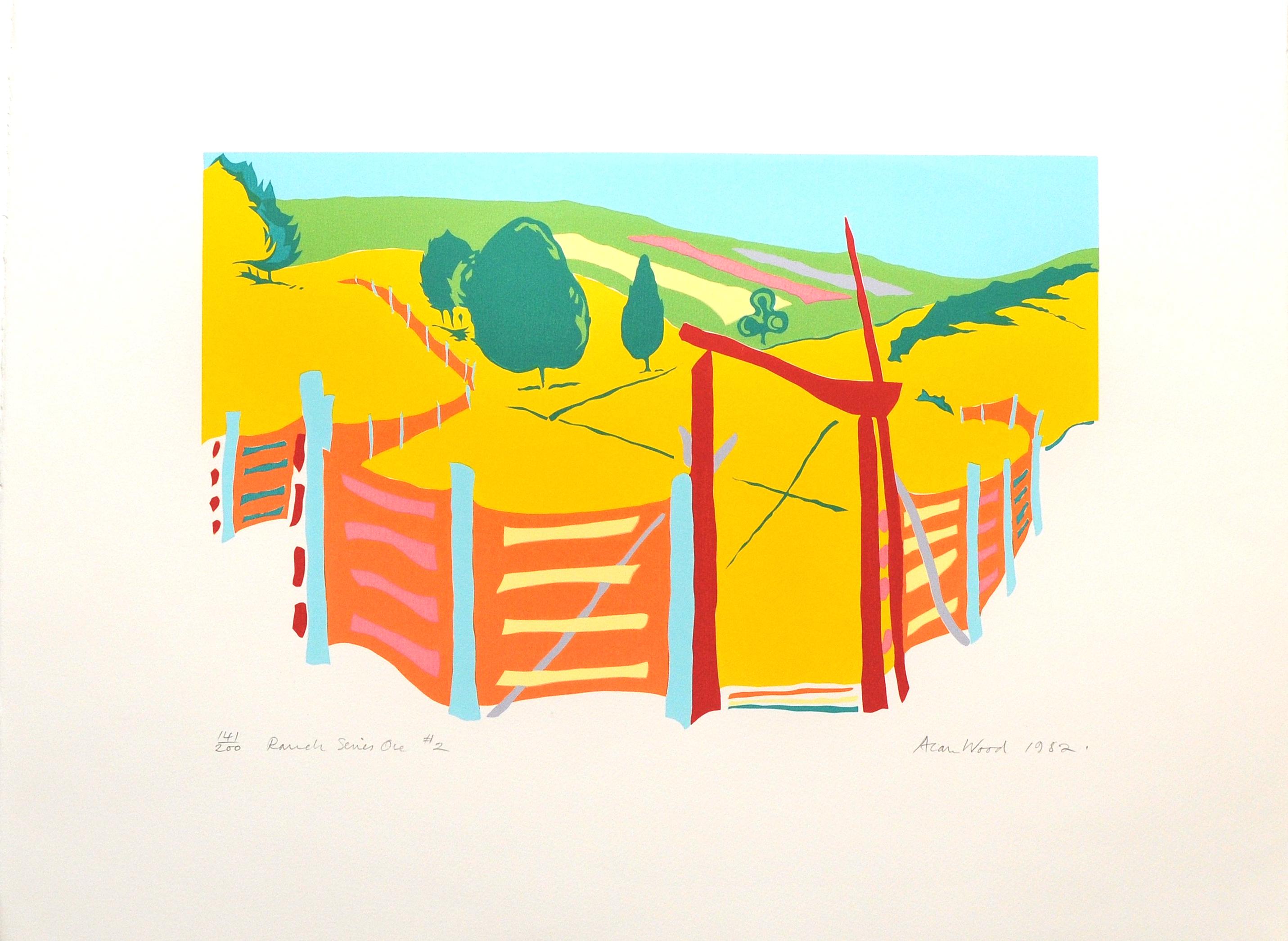 Alan_Woods_1982_Prints_#41_RanchSeriesOne#2