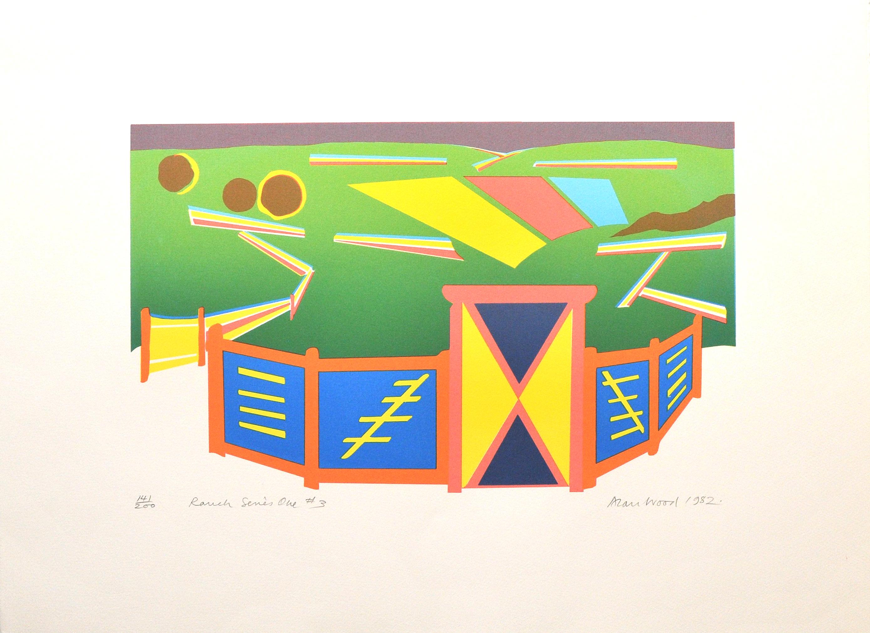 Alan_Woods_1982_Prints_#41_RanchSeriesOne#3
