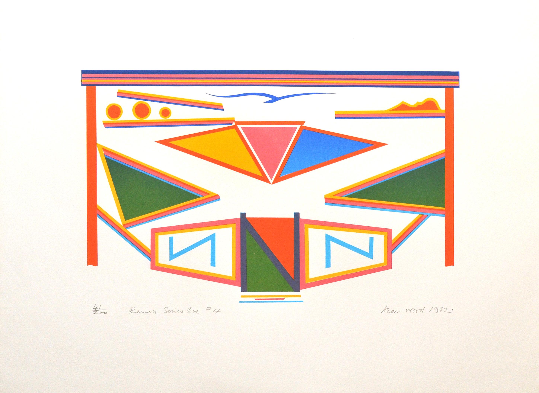 Alan_Woods_1982_Prints_#41_RanchSeriesOne#4