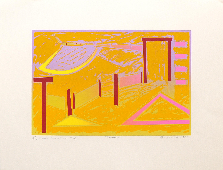 Alan_Woods_1983_Prints_#41_RanchSeriesFive#2_Summer