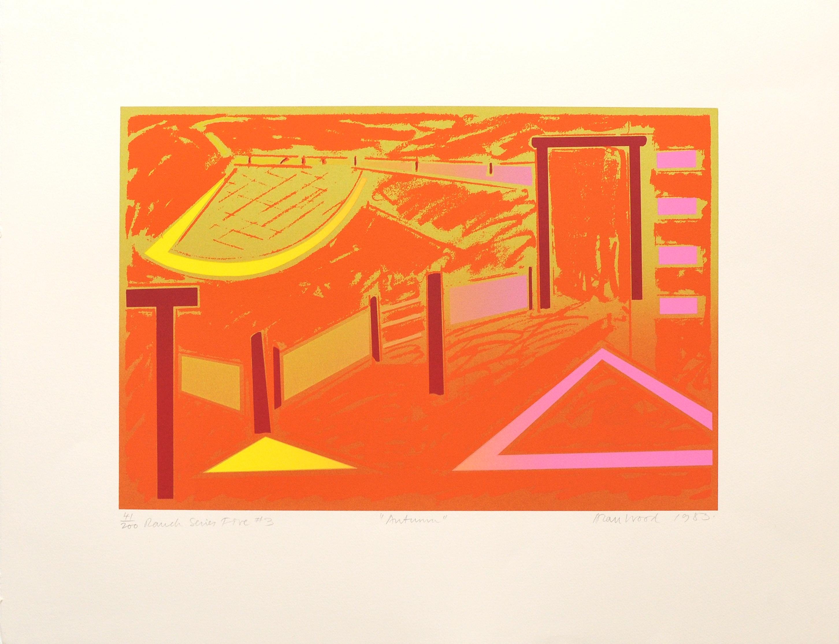 Alan_Woods_1983_Prints_#41_RanchSeriesFive#3_Autumn
