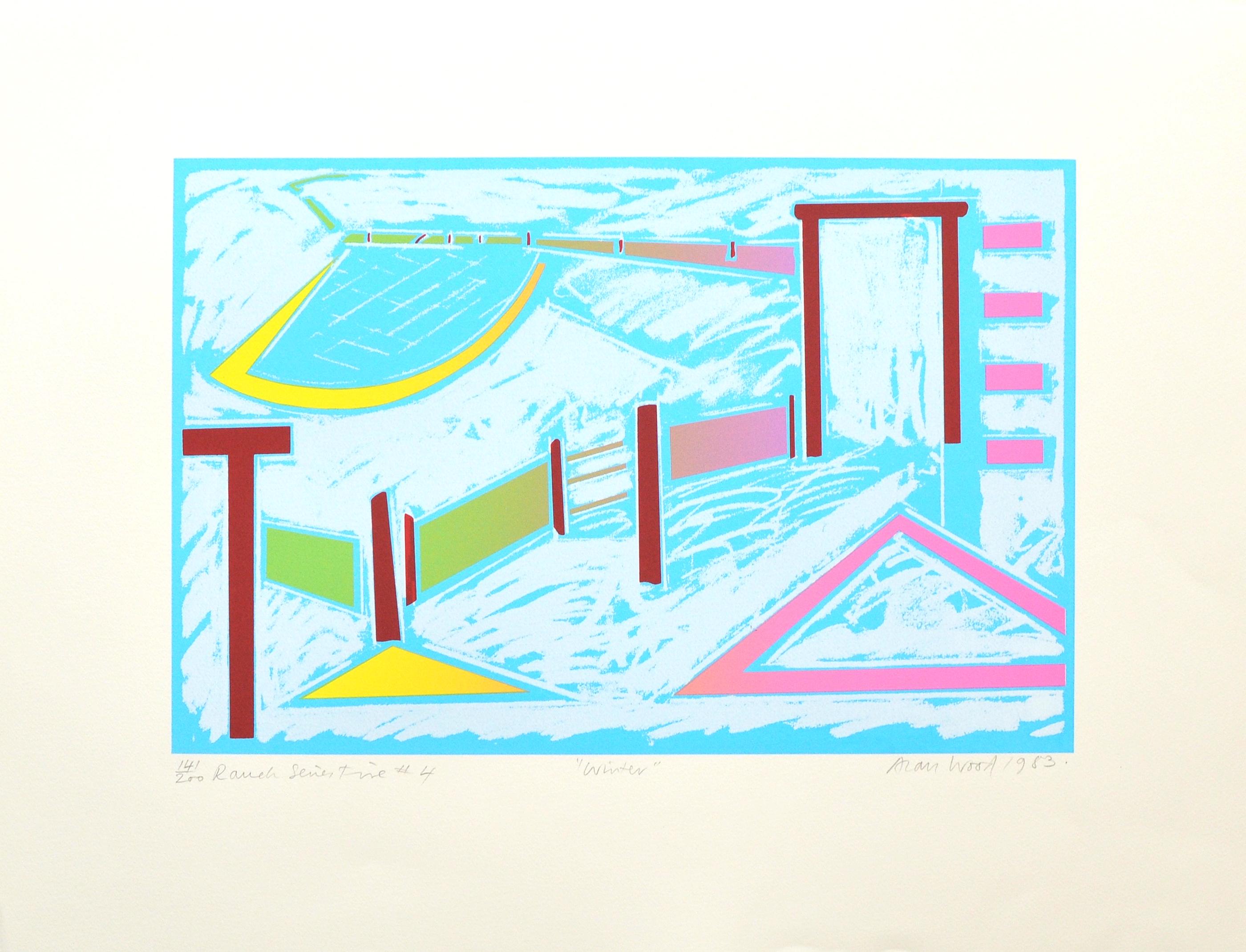 Alan_Woods_1983_Prints_#41_RanchSeriesFive#4_Winter