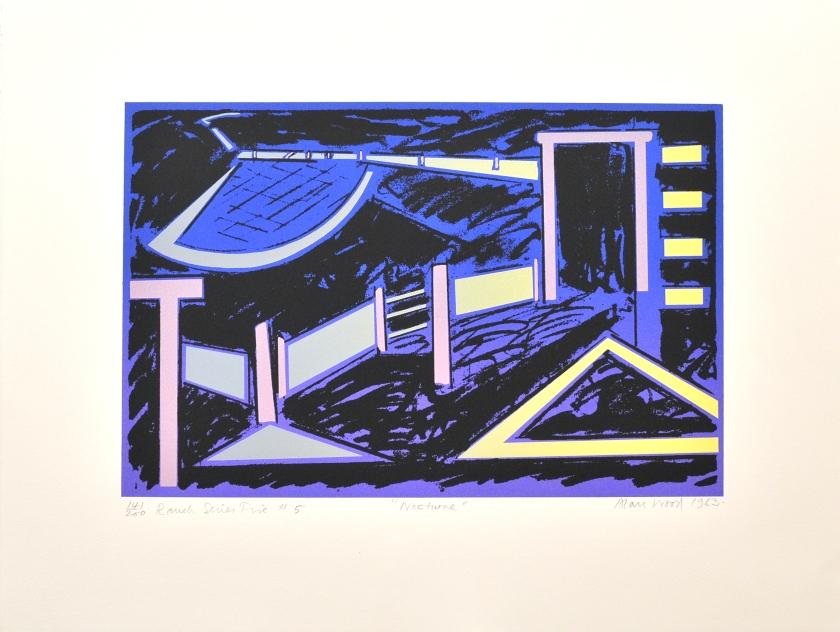 Alan_Woods_1983_Prints_#41_RanchSeriesFive#5_Nochturne