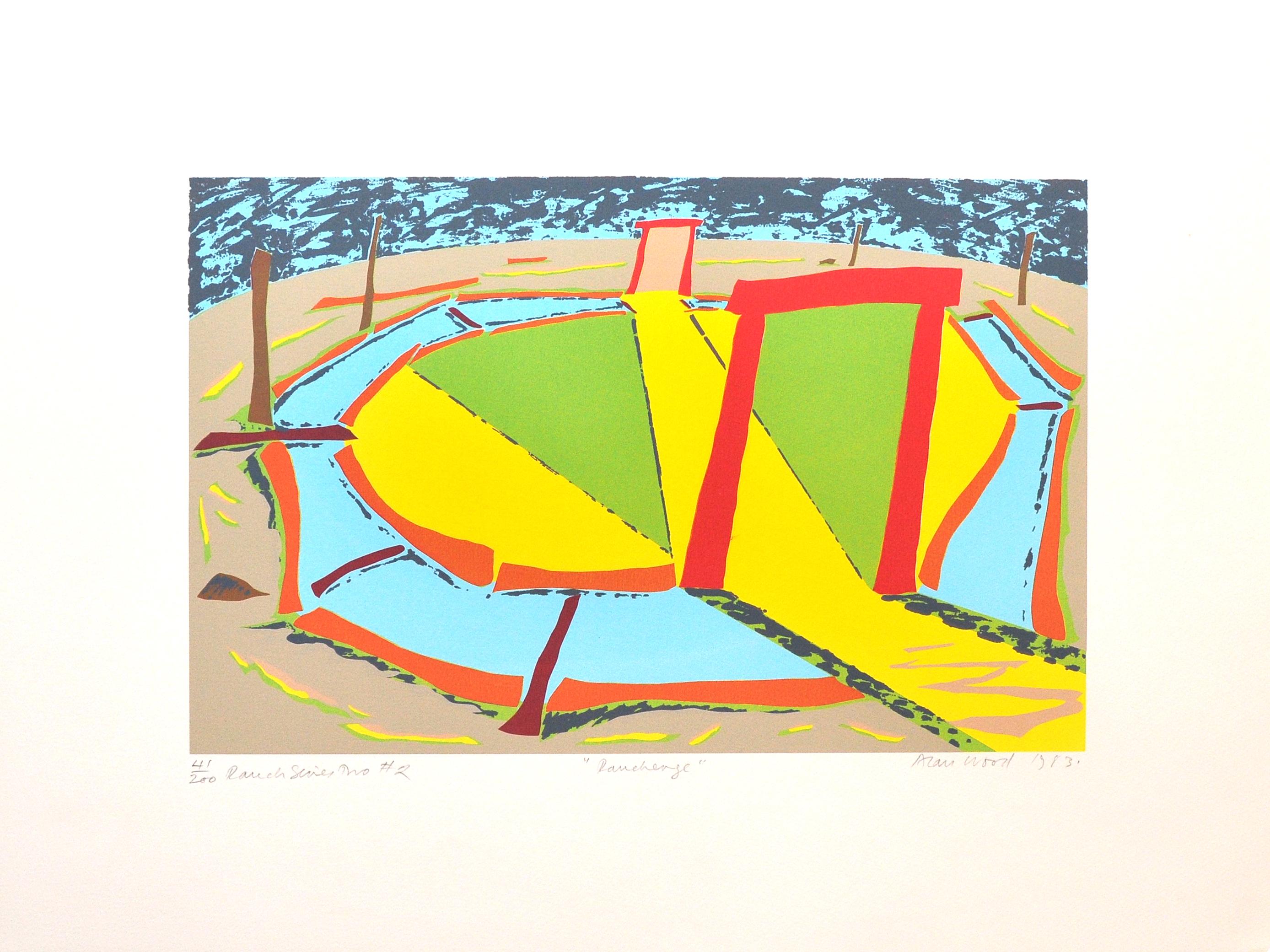 Alan_Woods_1983_Prints_#41_RanchSeriesTwo#2_Ranchenge